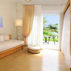 Отель Antigoni Beach Resort 4* Полулюкс с различными типами кроватей фото 8