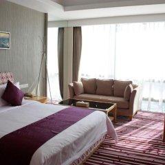 Huaqiang Plaza Hotel Shenzhen 4* Номер Делюкс с различными типами кроватей фото 3
