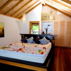 Отель Kuredu Island Resort 4* Вилла с различными типами кроватей фото 2
