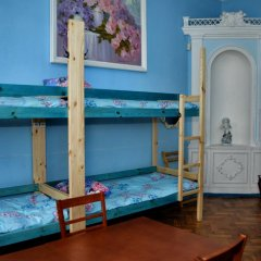 Гостиница Orfey Кровать в женском общем номере двухъярусные кровати