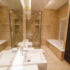 Platinum Hotel 3* Улучшенные апартаменты разные типы кроватей фото 9