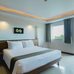 Отель Thanthip Beach Resort 3* Номер Делюкс с двуспальной кроватью