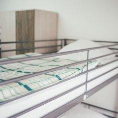 Хостел Крыша Кровать в мужском общем номере двухъярусные кровати фото 16