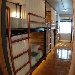 Sleep Owl Hostel Кровать в общем номере с двухъярусной кроватью фото 17