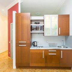 Апартаменты Four Squares Apartments on Tverskaya Апартаменты с двуспальной кроватью фото 10