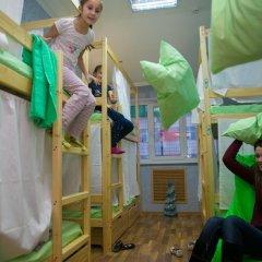 Hostel Ogurets Кровати в общем номере с двухъярусными кроватями фото 3