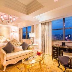 Отель Hangzhou Hua Chen International 4* Улучшенный номер с различными типами кроватей фото 9