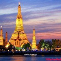 Отель Woodlands Inn Бангкок приотельная территория