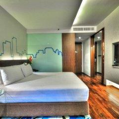 Отель Galleria 10 Sukhumvit Bangkok by Compass Hospitality 4* Номер Делюкс с двуспальной кроватью фото 8