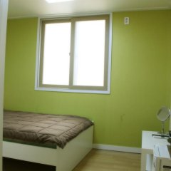 Отель Patio 59 Hongdae Guesthouse 2* Стандартный номер с двуспальной кроватью