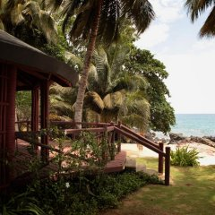 Отель Bom Bom Principe Island 4* Бунгало с различными типами кроватей фото 5