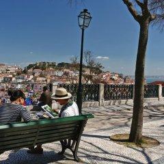 Отель Memmo Principe Real Лиссабон пляж