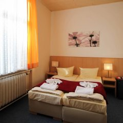 Отель Hotelpension Margrit 2* Стандартный номер с двуспальной кроватью фото 5