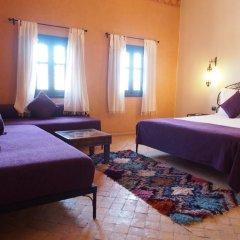 Отель Riad Bouchedor Марокко, Уарзазат - отзывы, цены и фото номеров - забронировать отель Riad Bouchedor онлайн комната для гостей фото 4
