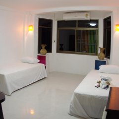 Donmueang Airport Residence Hostel Номер Делюкс с различными типами кроватей фото 7