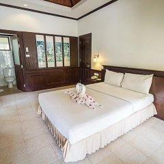 Отель Coco Palm Beach Resort 3* Улучшенное бунгало с различными типами кроватей фото 3