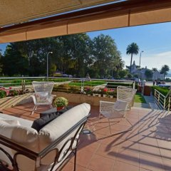 Отель Exclusivo Chalet en Isla de la Toja балкон
