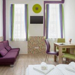 Отель Amber Gardenview Studios Студия с различными типами кроватей фото 17
