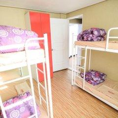 YaKorea Hostel Dongdaemun Кровать в общем номере с двухъярусной кроватью фото 11
