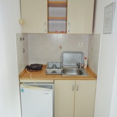 Апартаменты Apartments Anastasija Студия с различными типами кроватей фото 25