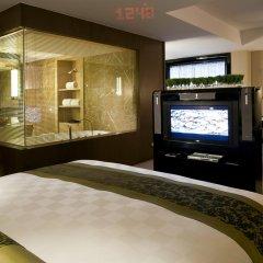 Pudi Boutique Hotel Fuxing Park Shanghai 4* Стандартный семейный номер с двуспальной кроватью фото 5