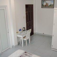 Отель LeBlanc Saigon 2* Семейный номер Делюкс с двуспальной кроватью фото 8