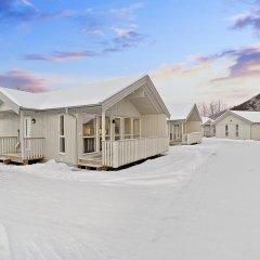 Отель Tromsø Camping Улучшенный коттедж с различными типами кроватей фото 14