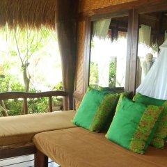 Отель Balangan Sea View Bungalow 3* Стандартный семейный номер с двуспальной кроватью фото 7