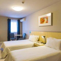 Отель Jinjiang Inn Shanghai Minhang Dongchuan Road 2* Стандартный номер с 2 отдельными кроватями фото 6