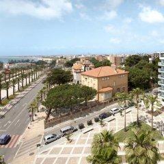 Отель Blaumar Hotel Salou Испания, Салоу - 7 отзывов об отеле, цены и фото номеров - забронировать отель Blaumar Hotel Salou онлайн пляж фото 2