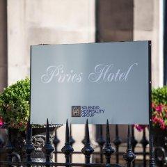Отель Piries Hotel Великобритания, Эдинбург - отзывы, цены и фото номеров - забронировать отель Piries Hotel онлайн интерьер отеля