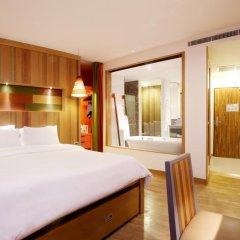 Patong Beach Hotel 4* Улучшенный номер с различными типами кроватей фото 3