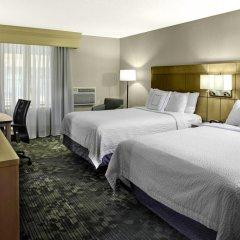 Отель Courtyard Columbus Downtown Стандартный номер с различными типами кроватей фото 3
