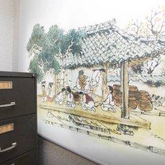 Отель Cozy Place in Itaewon Стандартный номер с различными типами кроватей фото 35