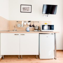Апартаменты Второй Дом Улучшенная студия с различными типами кроватей фото 7