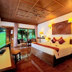 Отель Tropica Bungalow Resort 3* Улучшенное бунгало с различными типами кроватей фото 29