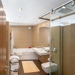 Отель Yastrebets Wellness & Spa Болгария, Боровец - отзывы, цены и фото номеров - забронировать отель Yastrebets Wellness & Spa онлайн ванная фото 2