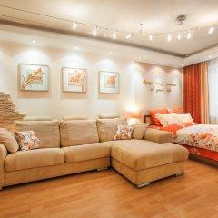 Апартаменты GreenHouse Apartments 1 Екатеринбург комната для гостей фото 4