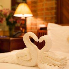 Hanoi Old Quarter Hotel 3* Номер Делюкс разные типы кроватей фото 6