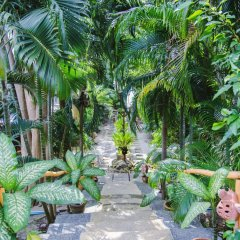 Отель Ko Tao Resort - Beach Zone 3* Улучшенный номер с различными типами кроватей фото 5