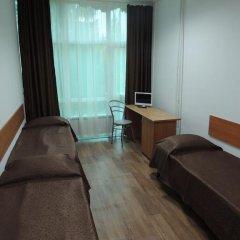 Гостиница Солнечная Кровать в общем номере фото 7