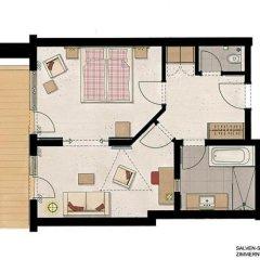 Hotel Feldwebel 4* Люкс с различными типами кроватей фото 6