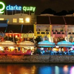 Отель Beds & Dreams Inn @ Clarke Quay гостиничный бар