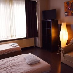 Отель Budget Flats Antwerpen Студия с различными типами кроватей
