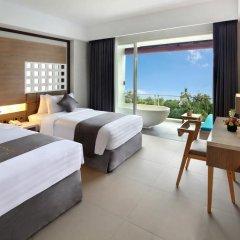 Отель Jimbaran Bay Beach Resort & Spa 4* Улучшенный номер с различными типами кроватей фото 4