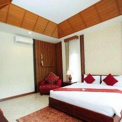 Отель Bhumlapa Garden Resort 3* Вилла Делюкс с различными типами кроватей фото 9