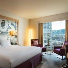 Renaissance Zurich Tower Hotel 5* Номер Комфорт с различными типами кроватей фото 2