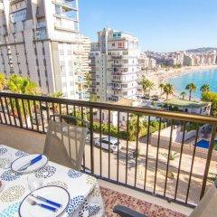 Отель Abahana Villa Levante Beach балкон
