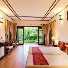 Отель Riverside Bamboo Resort Хойан комната для гостей фото 3