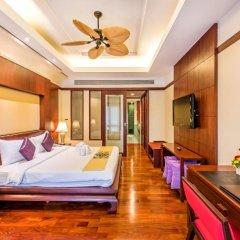 Отель Duangjitt Resort, Phuket 5* Семейный люкс с двуспальной кроватью фото 5